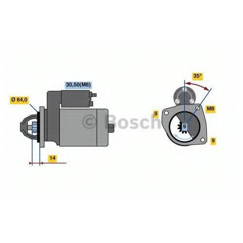 Bosch 0 986 023 810 Стартер