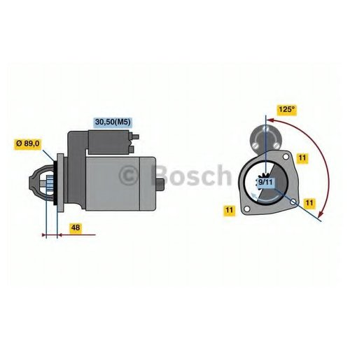 Bosch 0 986 023 830 Стартер