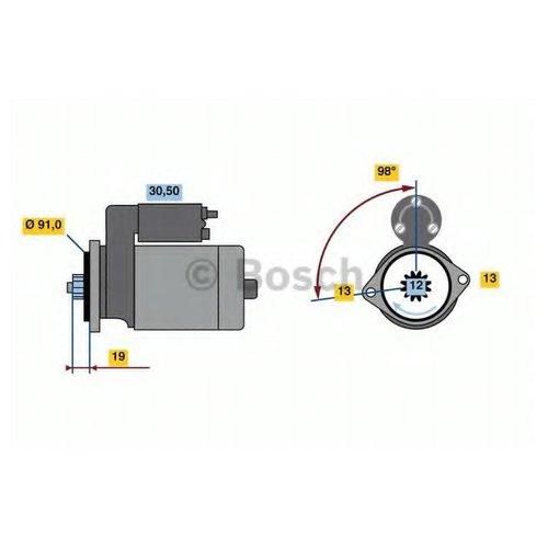 Bosch 0 986 023 840 Стартер