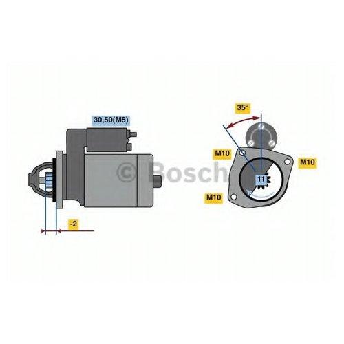 Bosch 0 986 023 850 Стартер