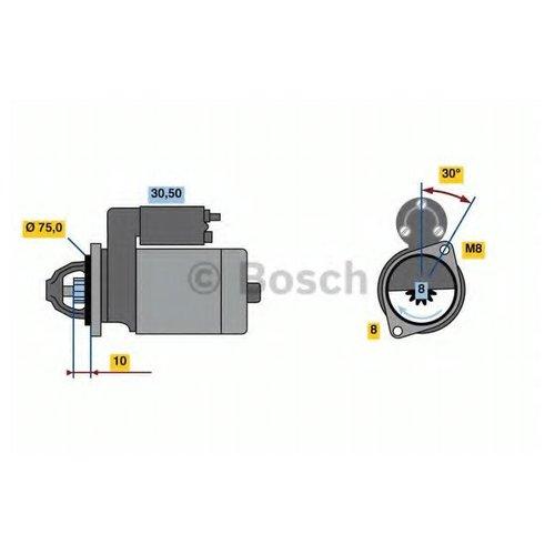 Bosch 0 986 023 880 Стартер