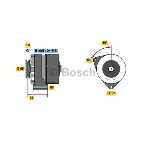 Bosch 0986032730 Генератор