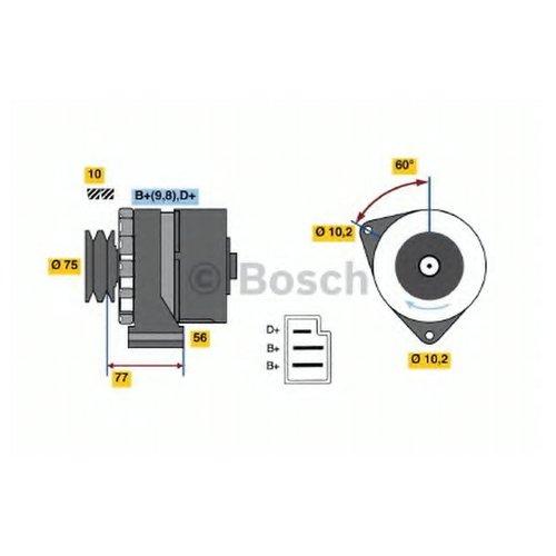 Bosch 0 986 032 800 Генератор