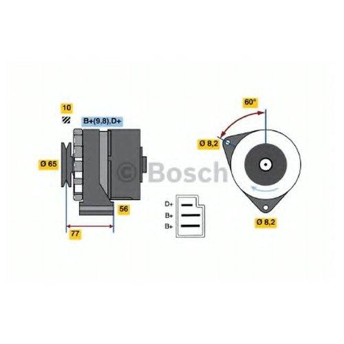 Bosch 0 986 033 210 Генератор