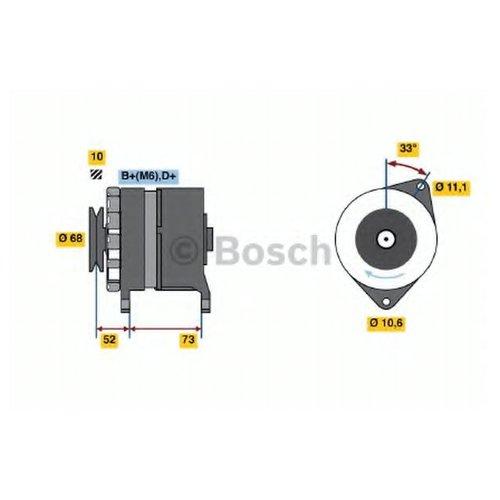 Bosch 0986033250 Генератор