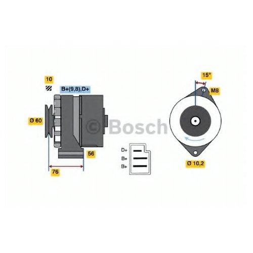 Bosch 0 986 033 260 Генератор