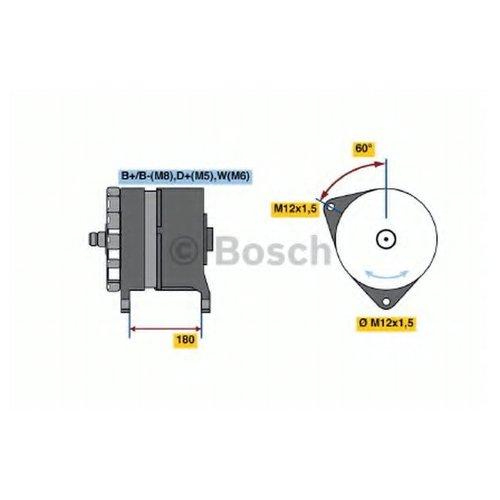 Bosch 0986033550 Генератор