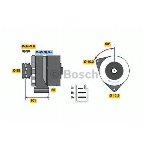 Bosch 0986033730 Генератор