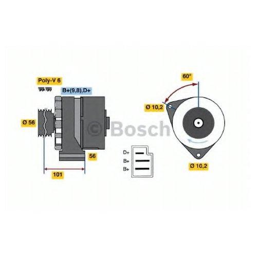 Bosch 0 986 033 740 Генератор