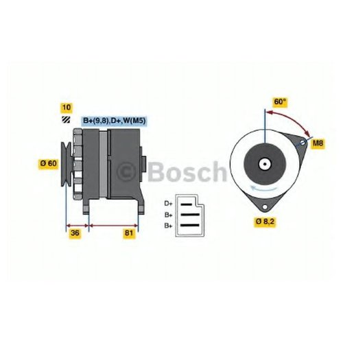 Bosch 0 986 033 830 Генератор