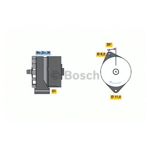 Bosch 0 986 033 840 Генератор