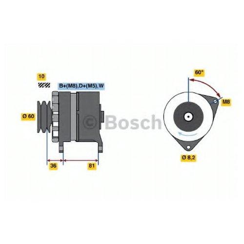 Bosch 0 986 034 010 Генератор