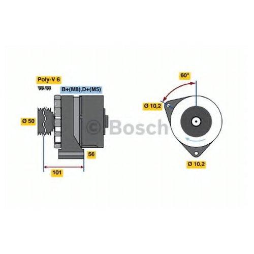 Bosch 0 986 034 020 Генератор