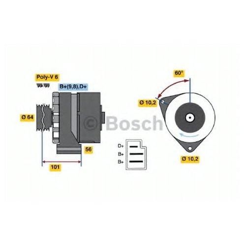 Bosch 0 986 034 050 Генератор