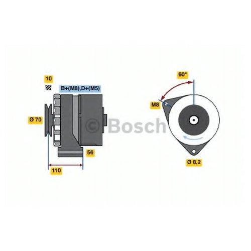 Bosch 0 986 034 150 Генератор