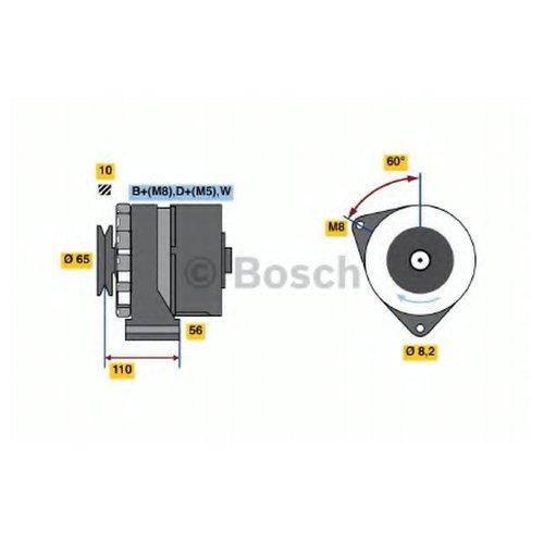 Bosch 0 986 034 240 Генератор