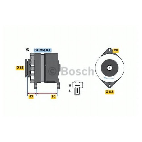 Bosch 0986034311 Генератор