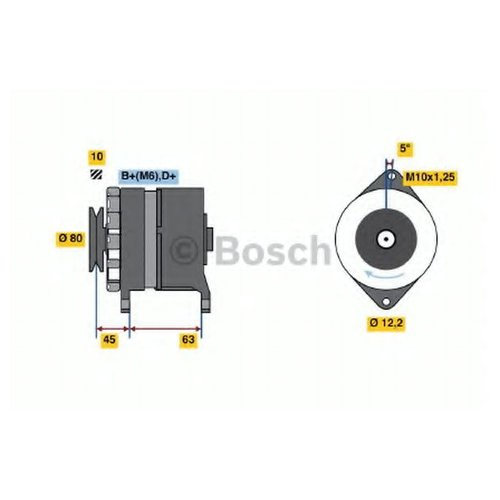 Bosch 0 986 034 390 Регулятор генератора