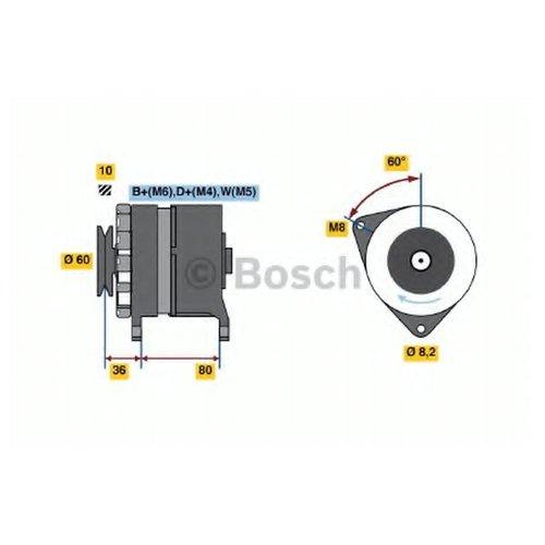 Bosch 0 986 034 470 Генератор