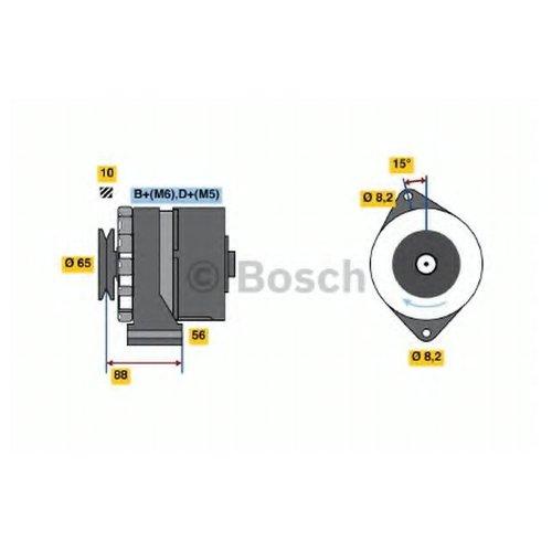 Bosch 0 986 034 660 Генератор