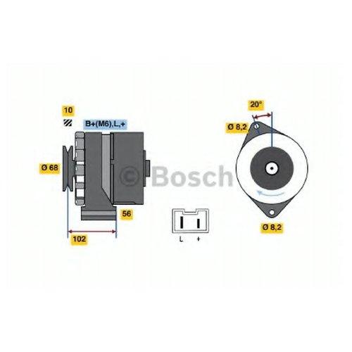 Bosch 0 986 034 740 Генератор