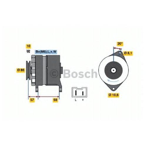 Bosch 0 986 034 861 Генератор