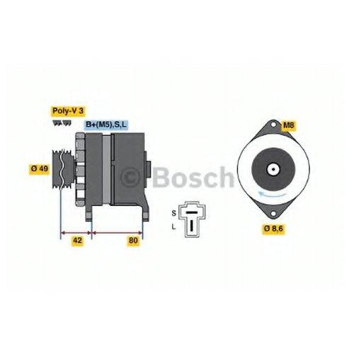 Bosch 0 986 035 411 Генератор