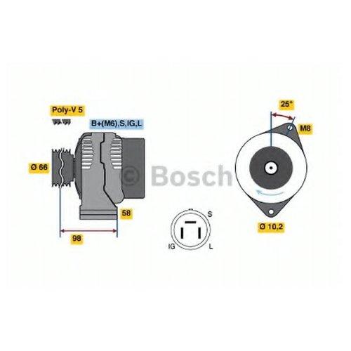 Bosch 0986035601 Генератор