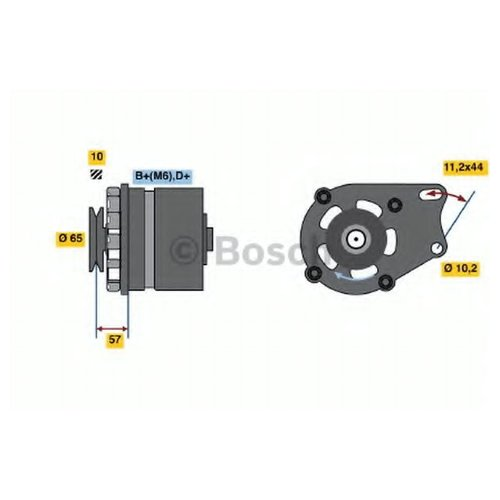 Bosch 0 986 035 641 Генератор
