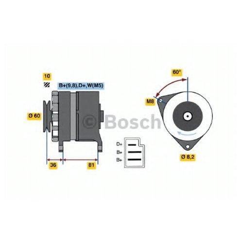 Bosch 0 986 036 020 Генератор