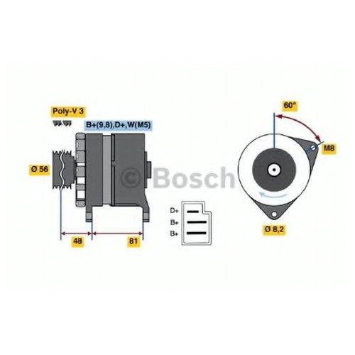 Bosch 0 986 036 060 Генератор