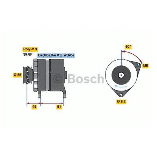Bosch 0986036071 Генератор