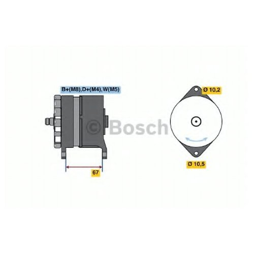 Bosch 0 986 036 280 Генератор