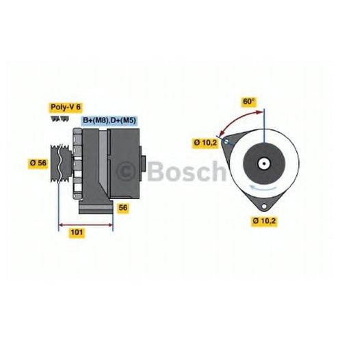 Bosch 0 986 036 360 Генератор