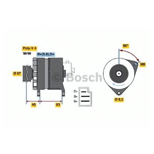 Bosch 0986036611 Генератор