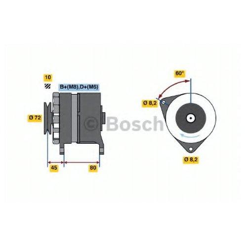 Bosch 0 986 036 760 Генератор