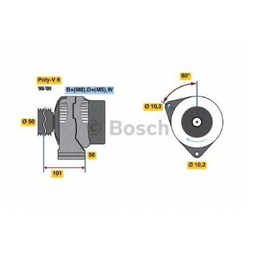 Bosch 0 986 036 810 Генератор