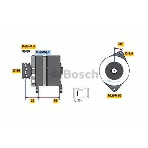 Bosch 0 986 036 851 Генератор