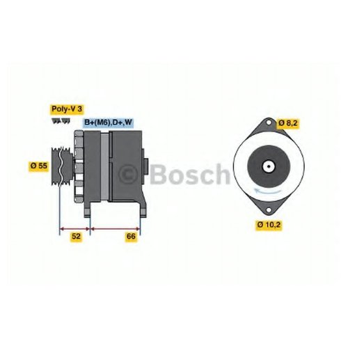 Bosch 0 986 036 860 Генератор