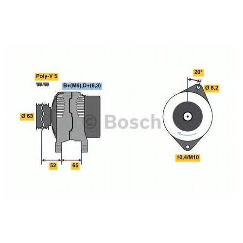 Bosch 0 986 036 871 Генератор