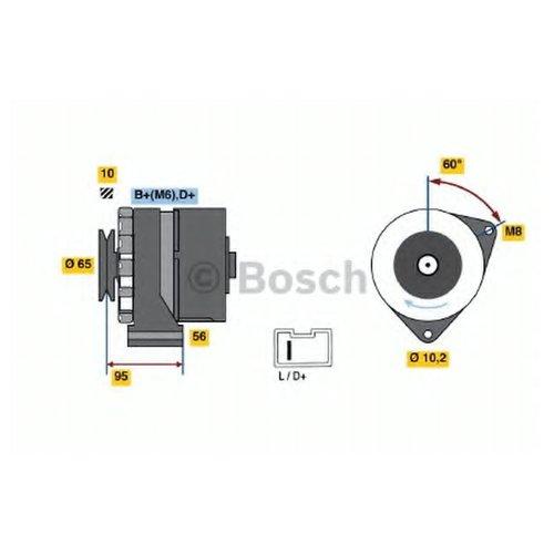 Bosch 0 986 036 891 Генератор