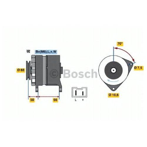 Bosch 0 986 036 901 Генератор
