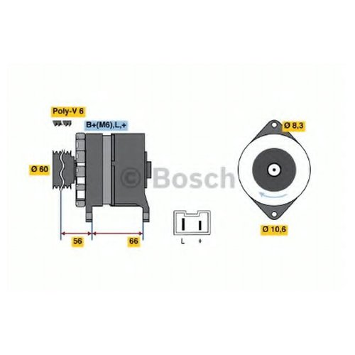 Bosch 0986036941 Генератор
