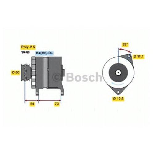 Bosch 0 986 037 160 Генератор