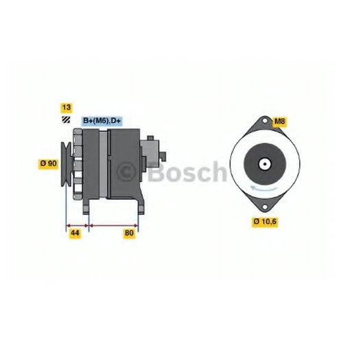 Bosch 0 986 037 210 Генератор