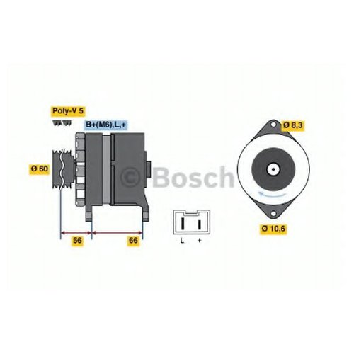 Bosch 0986037291 Генератор