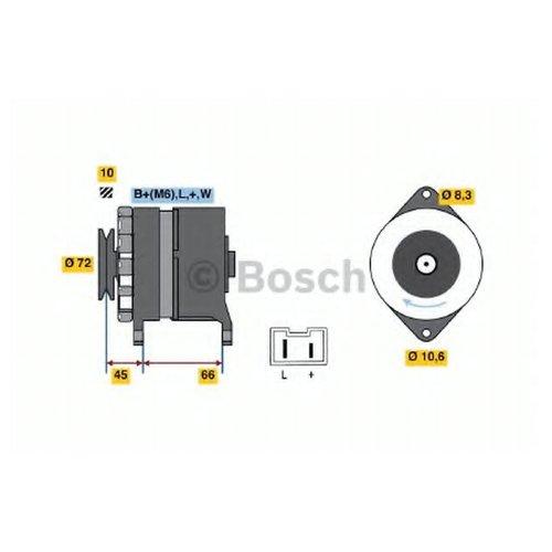 Bosch 0 986 037 301 Генератор