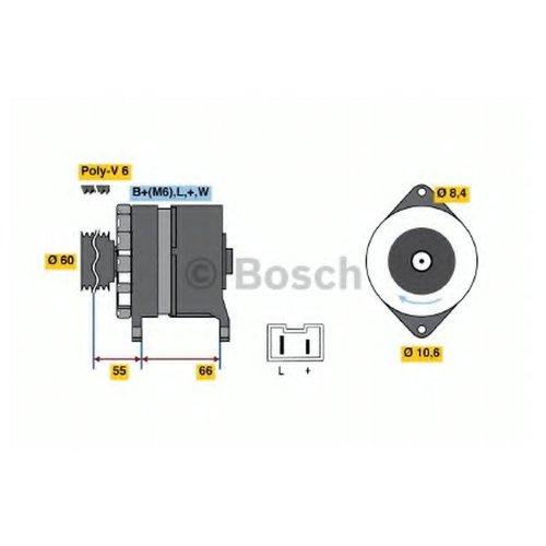 Bosch 0 986 037 311 Генератор