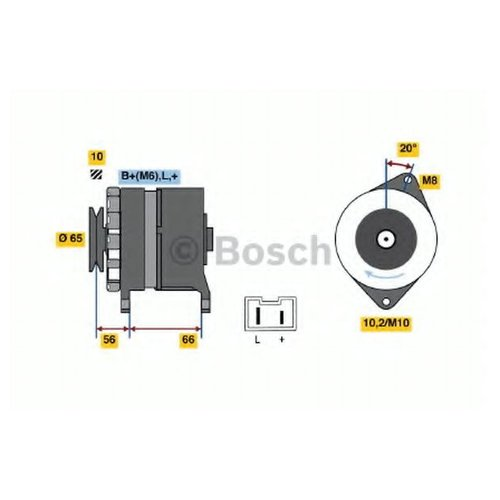 Bosch 0 986 037 321 Генератор
