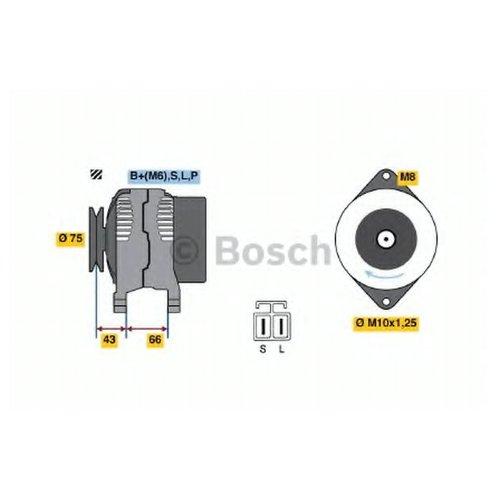 Bosch 0 986 037 491 Генератор